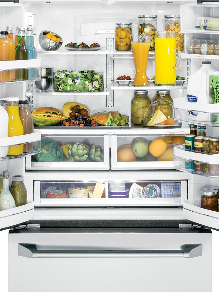 Advanced Temperature Management System With Upfront Electronic Controls  Delivers Cool, Fresh Air To Every Shelf And Door Bin. Refrigerator  Preservation