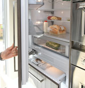 Built-in Fully Integrated Refrigerators