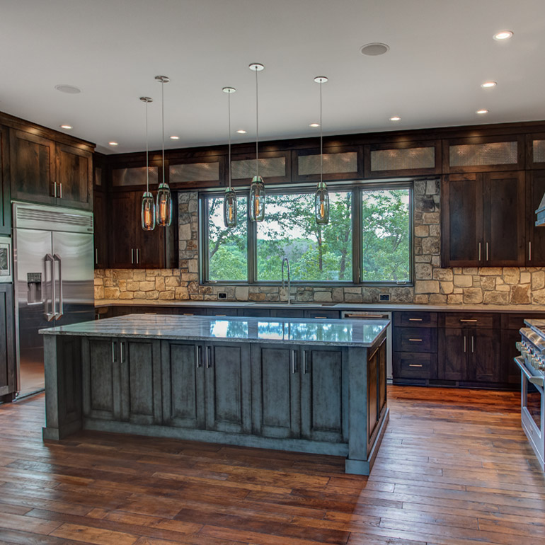 Por Kitchen Layouts & Designs | Monogram Kitchen Design Ideas on remodel kitchens with a peninsula, l-shaped kitchen with peninsula, g shaped kitchen with peninsula, galley kitchen with peninsula,