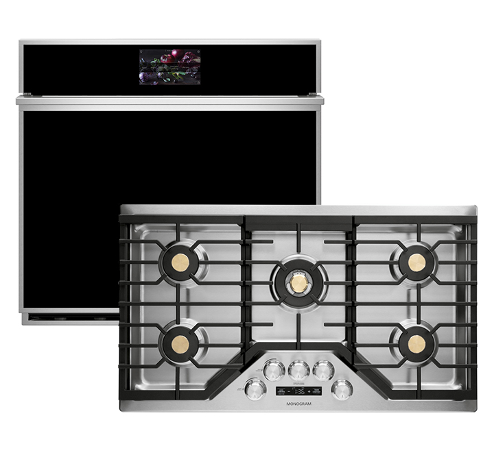 One Wall Oven & Cooktop